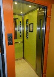 Modernizace výtahu Kubišova 1169, Třebíč, stav po rekonstrukcí