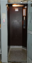 Modernizace výtahu Kubišova 1169, Třebíč, stav před rekonstrukcí